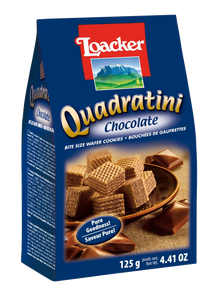 Loacker | Quadratini Chocolate 125g