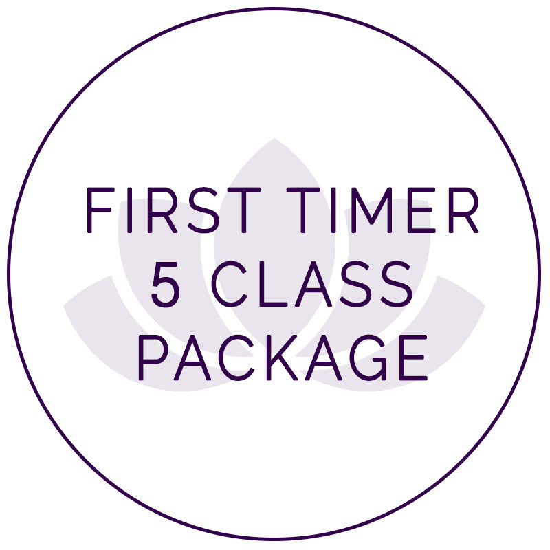 First Timer 5 Class Package