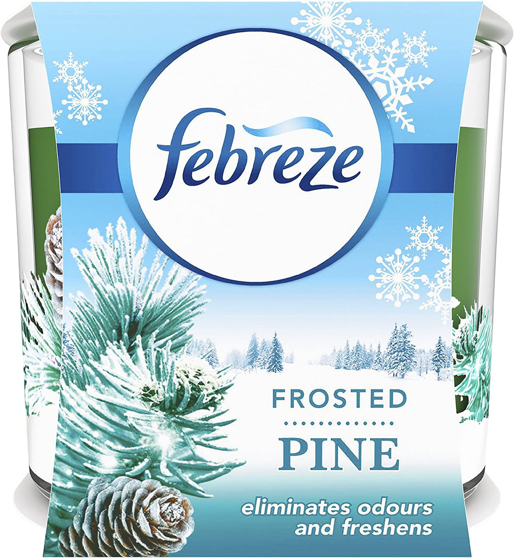 Febreze Candle Air Freshener - Frosted Pine (100g)