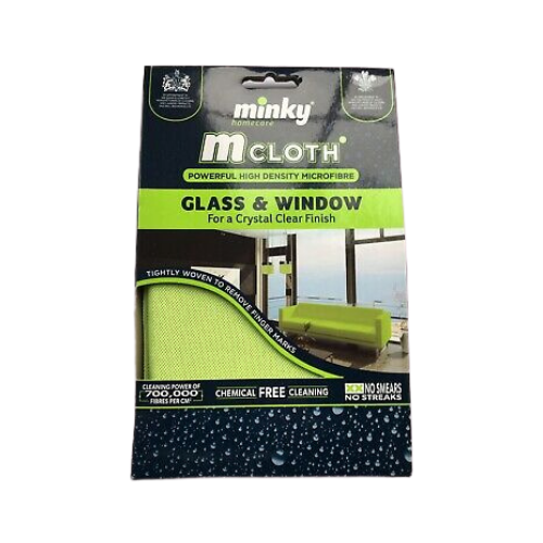 M Cloth Glass & Window aka 'Kermit'