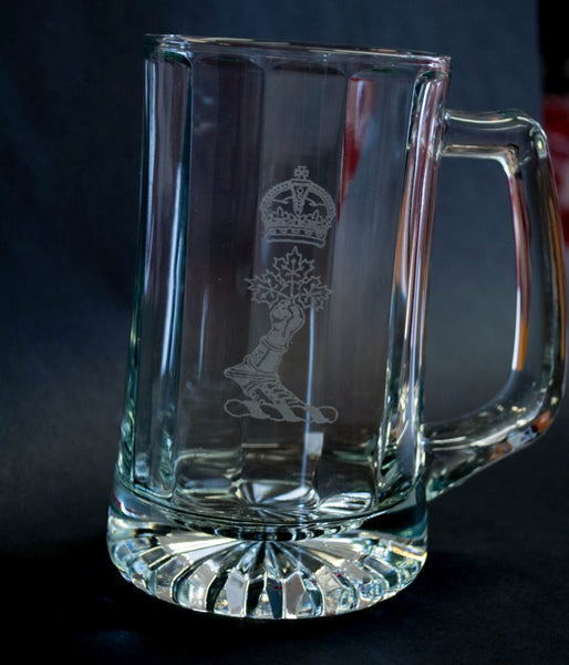 Glass Beer Stein
