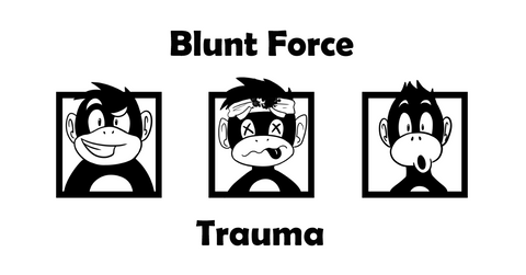 Blunt Force Trauma Store Black n White Monkeys