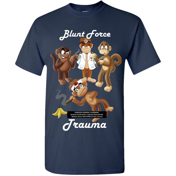 Blunt Force Trauma Adult Unisex Tee Standard T