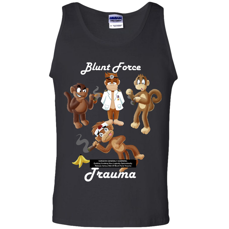 Blunt Force Trauma Adult Unisex Tank Top