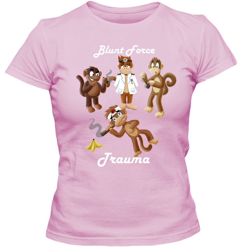 Blunt Force Trauma Adult Ladies Classic Tees