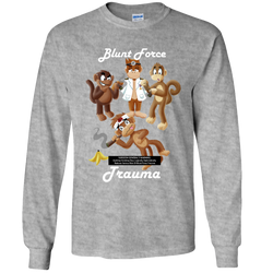 Blunt Force Trauma Adult Long Sleeve Tee
