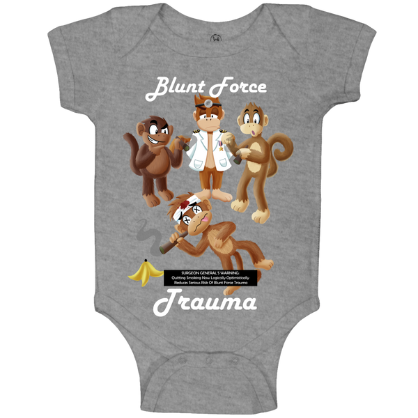 Blunt Force Trauma Baby Body Suit