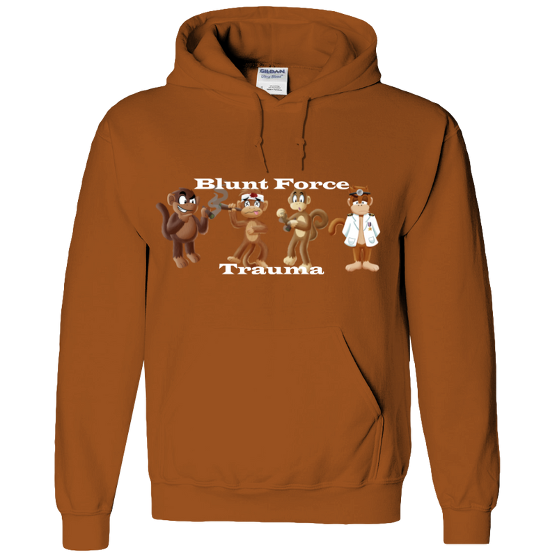 Blunt Force Trauma Adult Hoodie