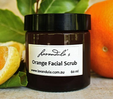 Orange Facial Scrub