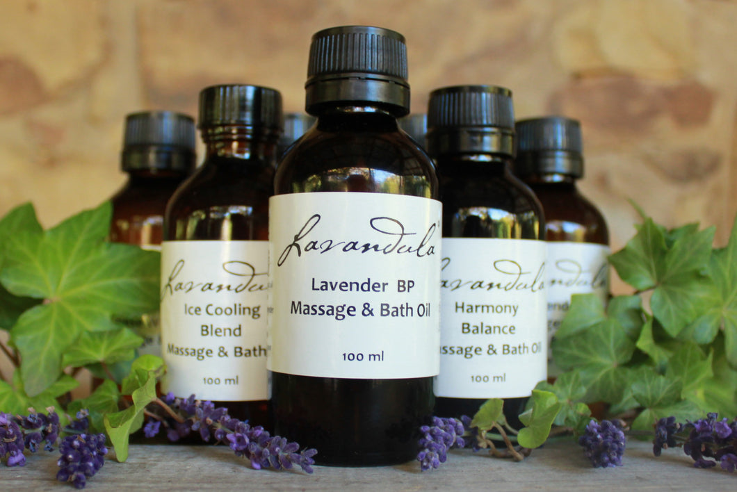 Lavender Bp Massage and Bath Oil