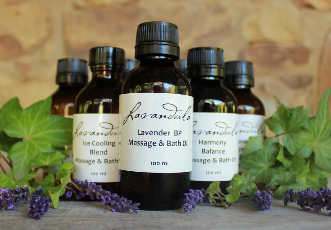 Spike Lavender, Rosemary & Cedarwood Massage and Bath Oil