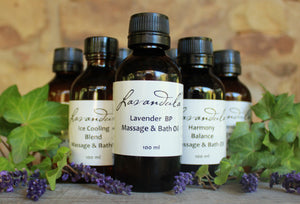 Lavender & Tangerine Massage and Bath Oil