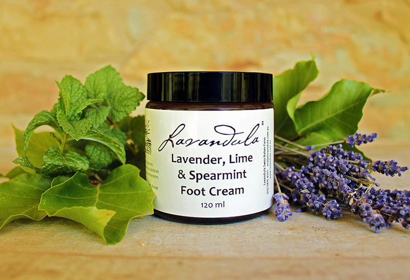 Lavender, Lime & Spearmint Foot Cream