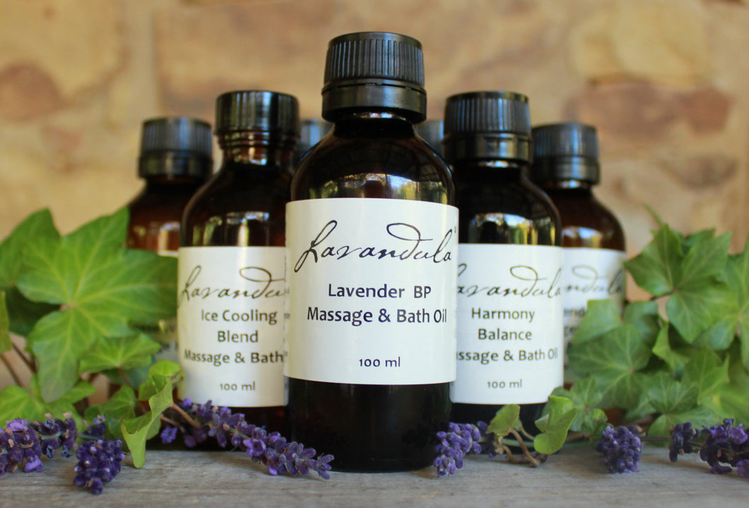Spike Lavender, Cypress & Lemon Massage and Bath Oil