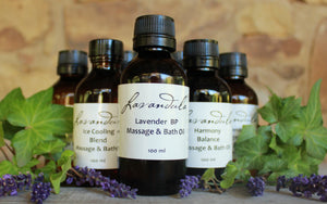 Lavender & Ylang Ylang Massage and Bath Oil
