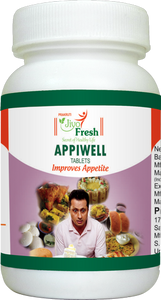 Appiwell Tablets (60 Tablets) : Give your Appetite a boost