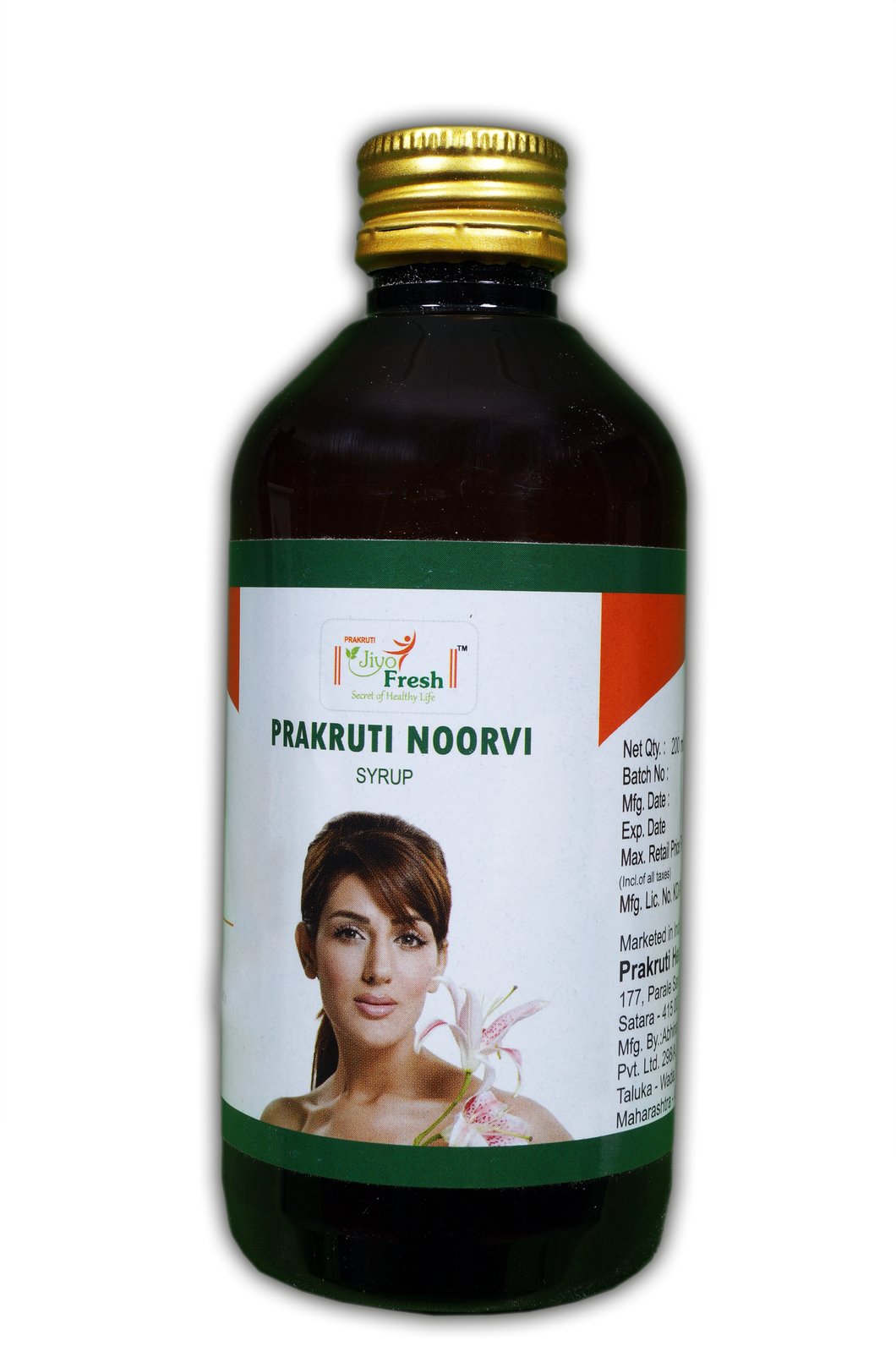 Noorvi Syrup (200ml bottle)