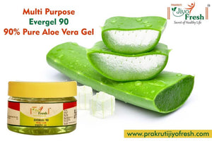 Evergel 90 (50 grams) with 90% pure Aloe Vera