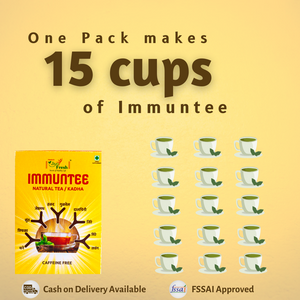 Immuntee Natural Tea/Kadha Food Supplement