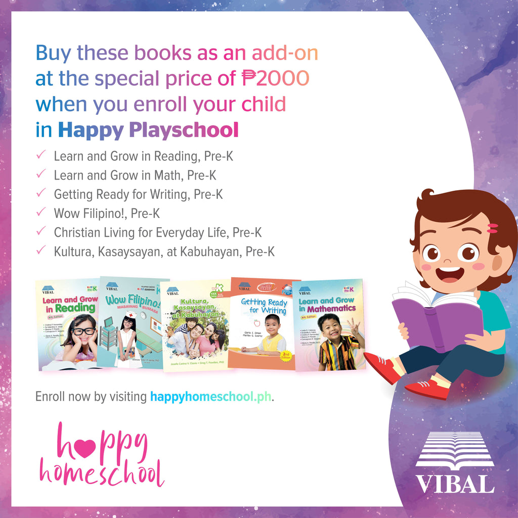 Happy Playschool Book Bundle (Ages 2 to 4)
