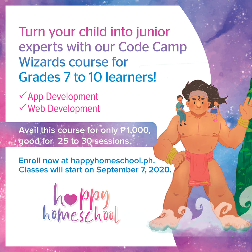 Code Camp Wizards (Grades 7-10)