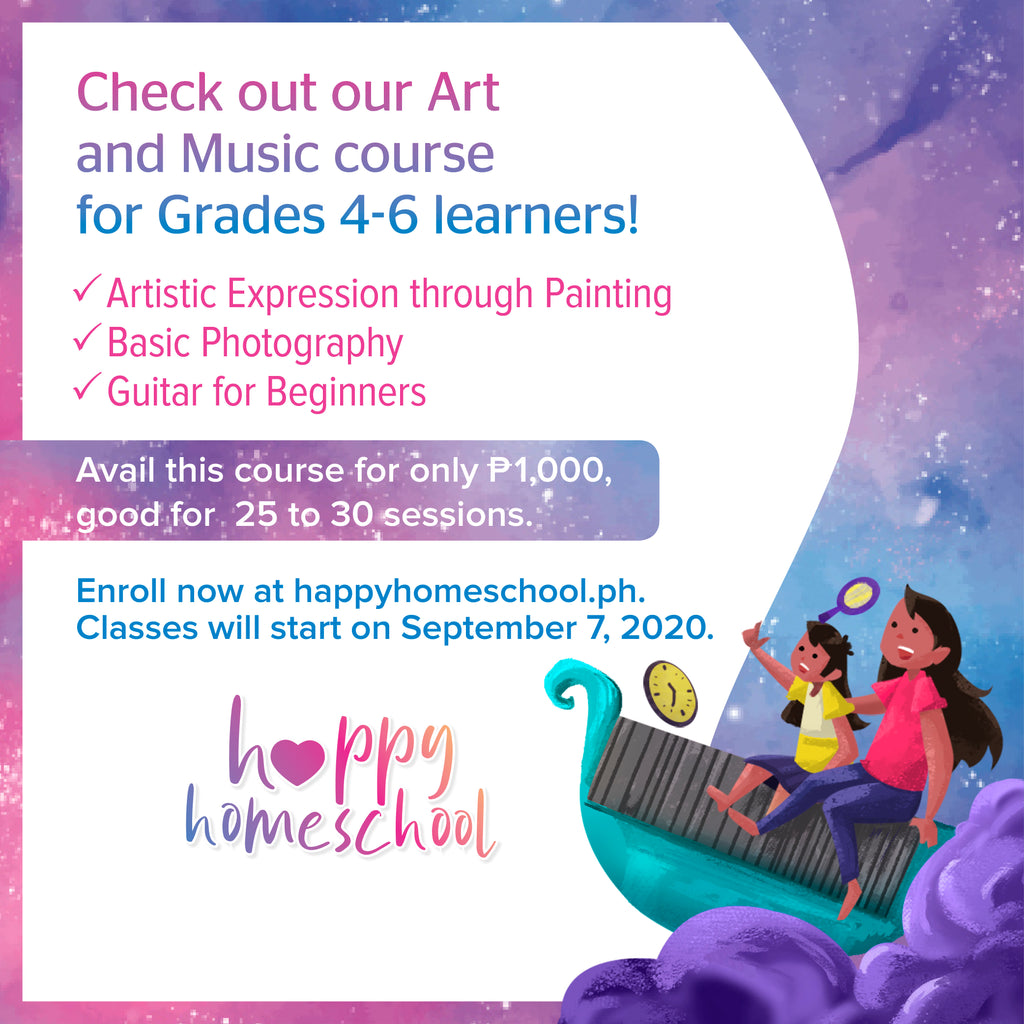 Arts and Music Course (Grades 4 to 6)