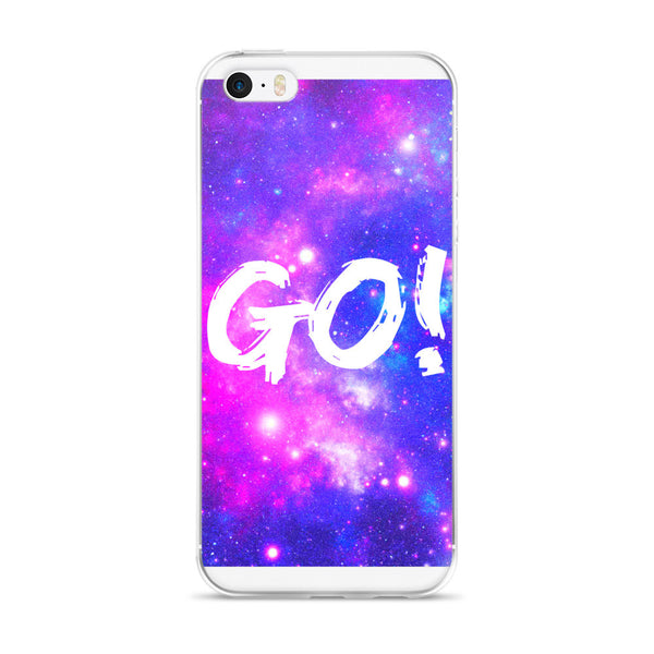 GO! Motivational Universe Space Design iPhone Case