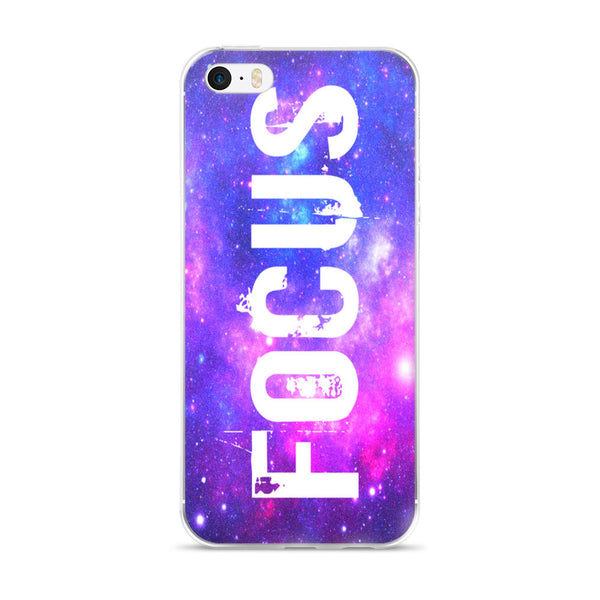 FOCUS Universe Space Unique Design iPhone Case