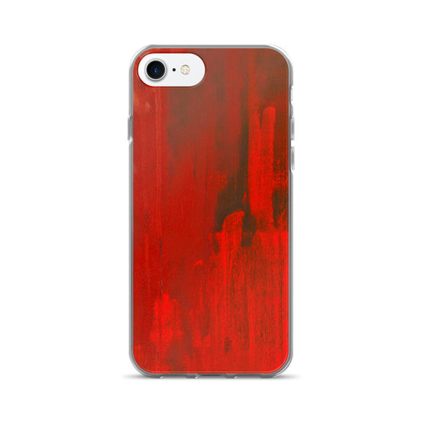 Red Paint Flashy Colorful iPhone 7/7 Plus Case
