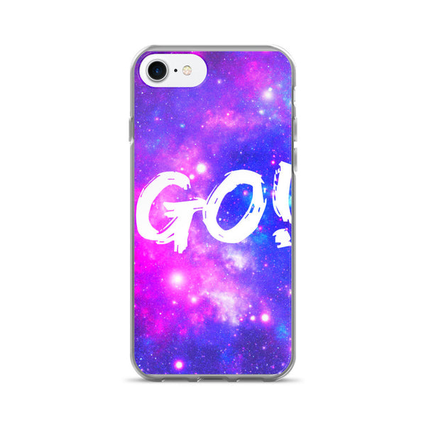 GO! Motivational Space Universe Design iPhone 7/7 Plus Case