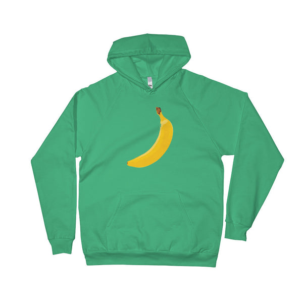 Big Yellow Banana Happy Colorful Fruity Design Hoodie