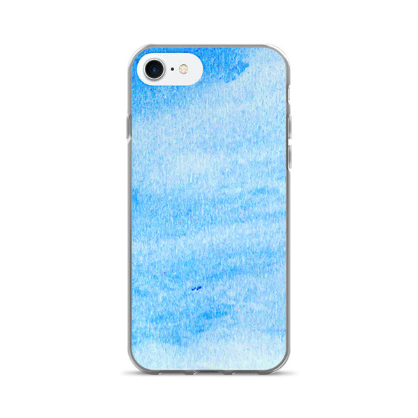 Rough Paper Pattern Blue Colorful iPhone 7/7 Plus Case