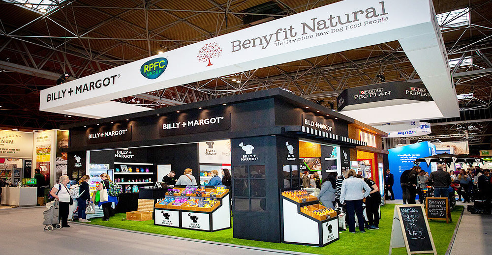 Crufts 2020 Benyfit Natural Show Stand