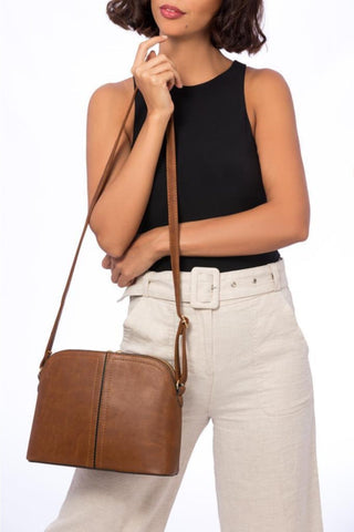 Sac chic marron