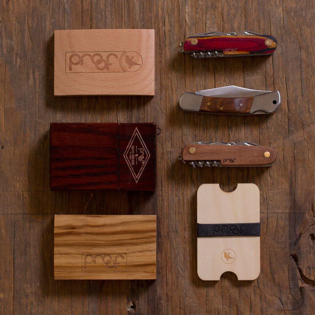 Press Release: Wood Accessories Release