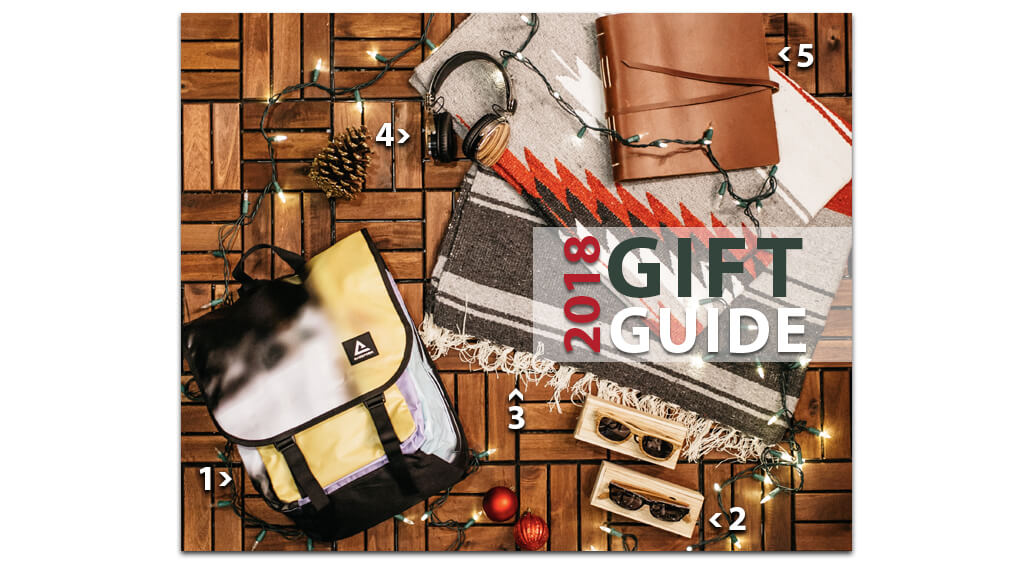 2018 Holiday Gift Guide + Giveaway