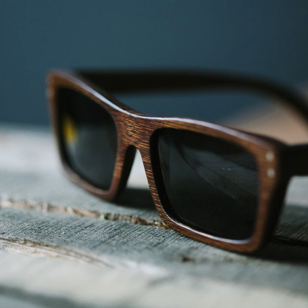 Boise FSC-Certified Wood Sunglasses with Polarized Lenses