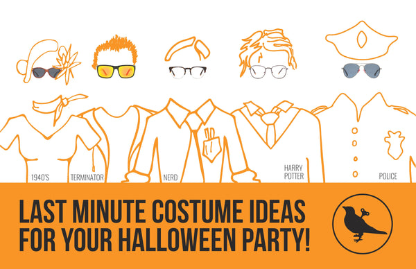 5 Last Minute Costume Ideas
