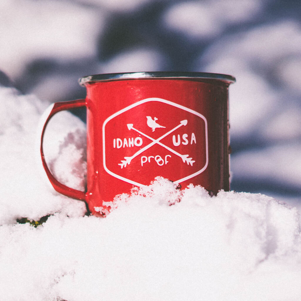 Enamel Proof Camp Mug