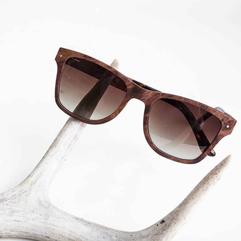 Tamarack FSC-Certified Sustainable Wood Sunglasses with Polarized Lenses