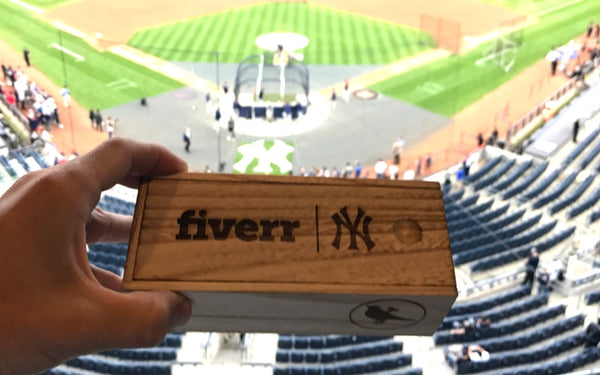 Proof was Featured in the Yankee's Stadium!