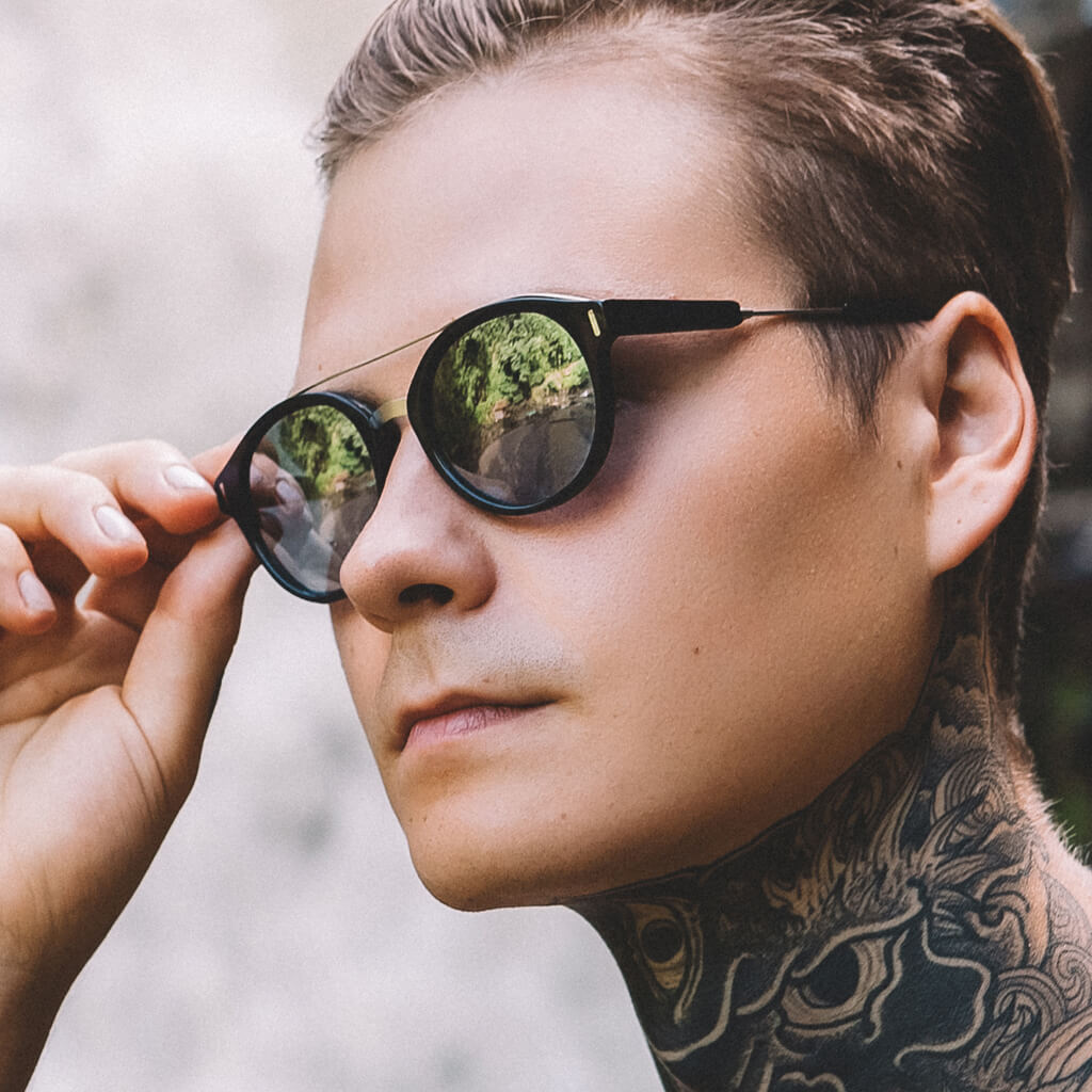 Wilder Cotton-Based Acetate Eco Sunglasses