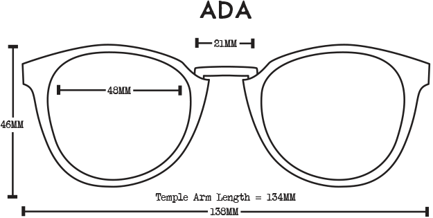 Ada Acetate Sale Fit Guide