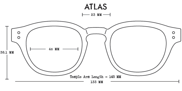 Atlas Acetate Fit Guide