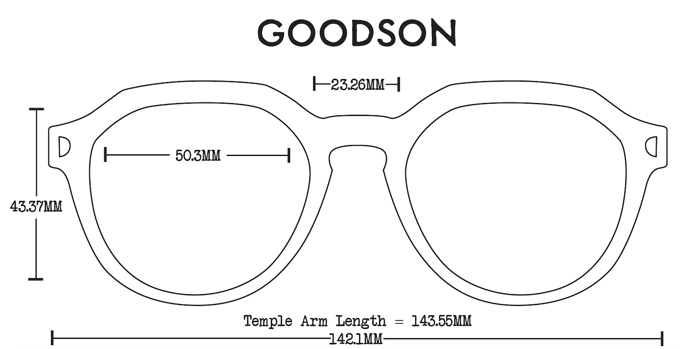 Goodson Acetate Fit Guide