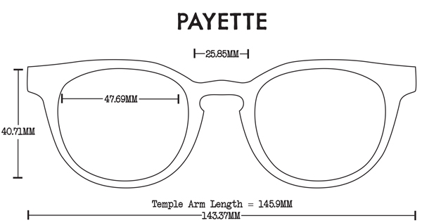 Payette Skate Sunwear Fit Guide