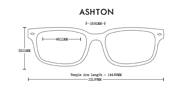 Ashton Wood Rx Optical Fit Guide