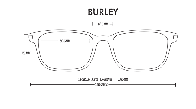 Burley Acetate Rx Optical Fit Guide