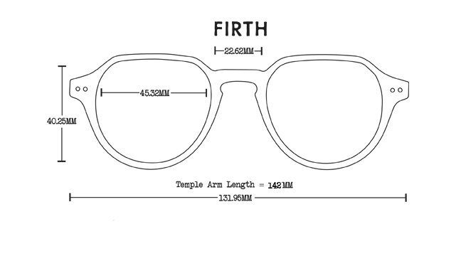 Firth Acetate Rx Optical Fit Guide