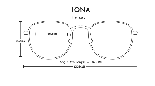 Iona Aluminum Rx Optical Fit Guide